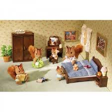 SYLVANIAN FAMILIES Master Bedroom Set - Sylvanian families living room set