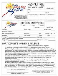 printable event registration form template printable registration