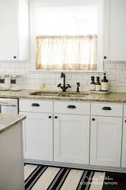 kitchen backsplash cast iron farmhouse sink brick kitchen