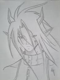 vincent valentine galian beast sketch by yuma76 on deviantart