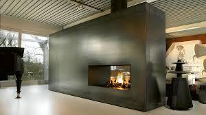 2 sided fireplace binhminh decoration