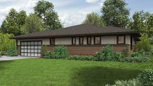 What Is A Rambler Style Home Mascord House Plan 1247 The Dallas