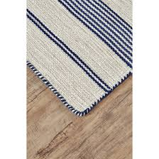 Yellow And Blue Outdoor Rug Wide Ticking Stripe Indoor Outdoor Rug Shades Of Light