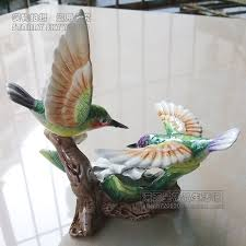cheap shuangsushuangfei hummingbird ornaments ceramic home