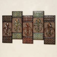 impressive bronze metal wall decor bronze wrought iron wall wall