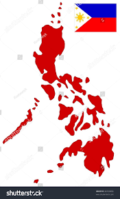 Philippine Flag Means Map Flag Philippines Stock Vector 32233690 Shutterstock