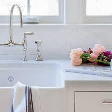 Farm Sink With Backsplash by Farmhouse Sink Design Ideas Page 1