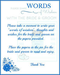 words of wisdom bridal shower memory jars for a bridal shower with printables daily dish