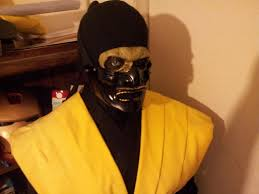 Scorpion Halloween Costume Mortal Kombat Legacy Scorpion Wip 2