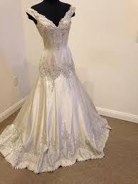 candlelight wedding dresses stephen yearick candlelight silk 13068 lesslye wedding dress