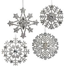 ornaments snowflakes rainforest islands ferry