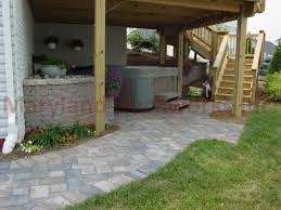 Deck And Patio Combination Pictures by Annapolis Brick And Natural Aggregate Annapolis Decks And Patios