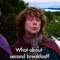 Second Breakfast Meme - second breakfast gifs get the best gif on giphy