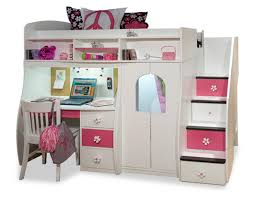 teenage loft beds with desk for teens girls loft bed with desk and