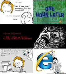 Search History Meme - i didn t clear my browser history of mozilla firefox by serkan