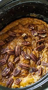 Best Pumpkin Cake Mix by Slow Cooker Pumpkin Cake Spicy Southern Kitchen