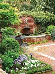 15 innovative designs for courtyard gardens hgtv best 25 brick courtyard ideas on small enclosed
