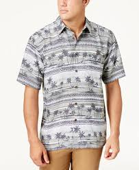 Tree Shirt Quiksilver Waterman S Power Lounge 2 Palm Tree Print Shirt