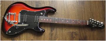 eko cobra 2hbb reissue electric guitar with bigsby style trem ebay