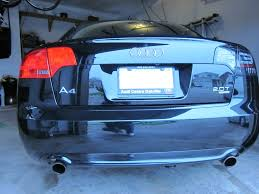 audi a4 tail lights a4 b7 led tail lights by dectane audi forum audi forums for the