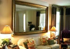 chic wall design bathroom mirrors at lowes large frameless sale