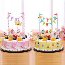 birthday cake decorations 1set baby shower boy girl birthday cake topper for