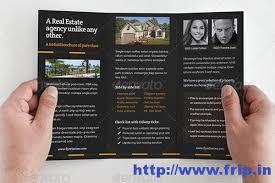 50 best real estate brochure print templates frip in