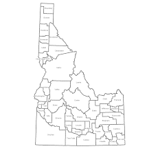 Clearwater Zip Code Map by Map All Of Idaho