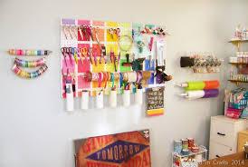Storage Ideas For Craft Room - mad in crafts work room storage