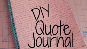 best quote from the notebook movie diy quote notebook youtube