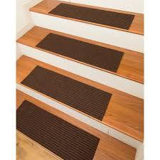 halton carpet chocolate stair treads set of 13 2 u0027 x 3 u0027 free