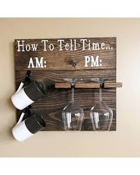 here u0027s a great price on how to tell time coffee wine shiplap decor