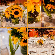 Centerpieces With Sunflowers by 216 Best Sunflower Weddings Images On Pinterest Sunflower