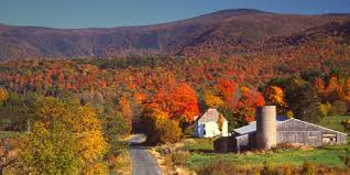 New England Foliage Map by Where To See New England U0027s Best Fall Foliage Huffpost