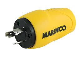 amazon com marinco eel straight 15 amp male straight blade to 30