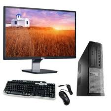 pc bureau reconditionné dell optiplex 990 desktop ecran 22 pouces pc bureau