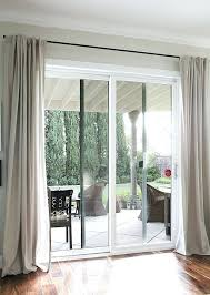 Andersen Sliding Patio Door Sliding Patio Door Curtain Rods From Galvanized Pipes Without The