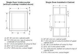 wall oven cabinet width wall oven installation double wall oven width inch wall oven cabinet