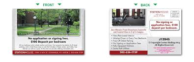 apartment postcards apartment marketing with direct mail