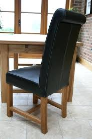 Scroll Back Leather Dining Chairs Leather High Back Dining Chairs Titan Leather Chair Scroll