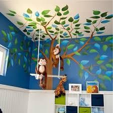 Preschool Wall Decoration Ideas by Bedrooms Astonishing Football Bedroom Ideas Kids Jungle Bed