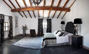 chambre a coucher noir et blanc chambre a coucher gris et noir trendy dco noir et blanc dans