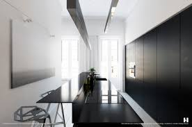 Black And White Kitchen Designs From Mobalpa by 6 Perfectly Minimalistic Black And White Interiors