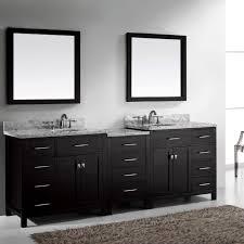 Complete Bathroom Vanity Sets Virtu Usa Caroline Parkway 93 Double Bathroom Vanity Set In