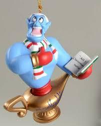 grolier disney ornament genie no box