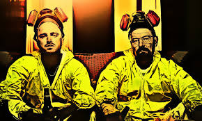 Breaking Bad Poster Leinwand Bild Er Xxl Pop Art Breaking Bad Heisenberg Gelb 50x30