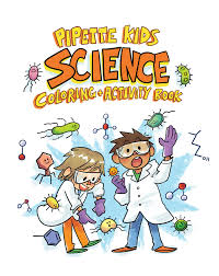 the pipette kids science coloring book graduate of