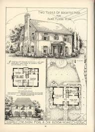 Small English Cottage Plans 1920s English Cottage Small Homes Books Of A Thousand Homes