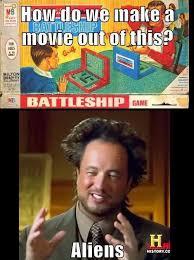 Meme Generator Alien - the battleship ancient aliens know your meme