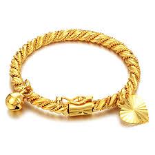 children s bracelets electroplated gold bell children s bracelet baby wear jewelry boys